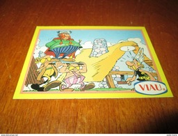 Asterix , La Collection ,ABRARACOURCIX , Base Card 6 1996 By Viau - Tarjetas De Colección