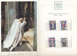 Poste Vaticane - 1983 - Mapje / Leaflet Paus Ioannes Paulus Met 4 Zegels MNH - Vaticaanstad