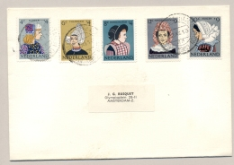 Nederland - 1960 - Kindserie Klederdrachten Op Cover Lokaal Amsterdam - Periode 1949-1980 (Juliana)