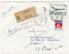 """Lettre Recom.pour Cholet Avec Griffe Rouge """"retour à L'envoyeur"""" - Marcophilie (Lettres)"""