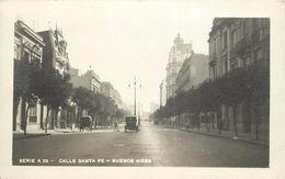 BUENOS AIRES - Calle Santa Fé. - Argentine