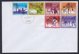 Yugoslavia 1996 Atlanta Olympic Games On Envelope, Did Not Travel - Lettres & Documents