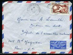 Saint Pierre Et Miquelon - Enveloppe Pour Paris En 1959 - Ref D172 - St.Pierre Et Miquelon