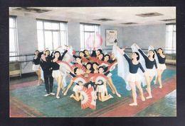 KOR1-49 THE CALISTHENICS ROOM - Korea, North