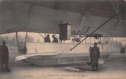 (54) Lunéville - Une Des Nacelles Du Zeppelin - Ballon Aviation - Luneville