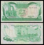 Libya 0.25 DINAR ND 1981P 42Aa VF (Libye) - Libya