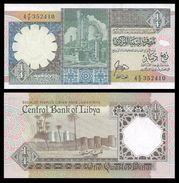 Libya 1/4 DINAR ND (ca.1990) P 52 UNC (Libye) - Libye
