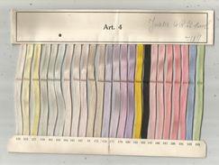 Publicité , échantillon De Tresses De Corsets , Lacets JOSETTE , Paris , Frais Fr : 1.95 E - Advertising