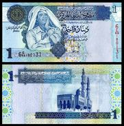 Libya 1 DINAR 2004 Sign. 10 P 68b UNC (Libye) - Libye