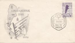ARGENTINIEN 1960 - FDC Brief Censo Nacional - FDC