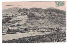 TRIGANCE (var 83) - VUE GENERALE SUR LE VILLAGE Et LE PONT SUR LE JABRON / CIRCULÉE EN 1910 / CACHET De ROUGON - Unclassified