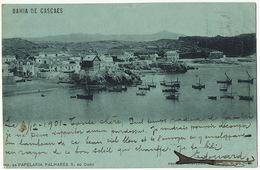Bahia De Cascaes  Edit Papelaria Palhares  P. Used 1901 To Villejuif - Portugal
