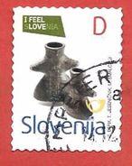 SLOVENIA USATO - 2013 - I Feel Slovenia - Figural Vase - Ceramica - € D - Michel SI 991 - Slovenia