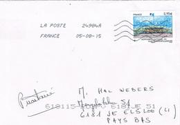 France Monument National Du Hartmannswillerkope 2015 Letter, Cover, Lettre - France