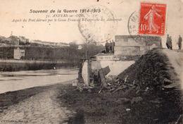 Anvers Sur Oise Aspect Du Pont Detruit Par Le  Genie - France