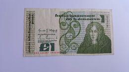 IRLANDA 1 POUND 1986 - Ireland