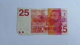 PAESI BASSI 25 GULDEN 1971 - [2] 1815-… : Kingdom Of The Netherlands