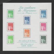 FRANCE / 2001 / Y&T BF N° 42 ** (Luquet En F - Valeurs De La Lettre) - Gomme D'origine Intacte - Neufs