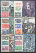 Italy 1992 Christopher Columbus, Ships, 500th Anniversary Of Discovery Of America Set Of 6 S/s MNH - Christopher Columbus