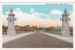 New York Jamestown Third Street Bridge 1930 Curteich