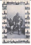 POSTAL    SCHEVENINGEN  -LA HAYYA  -HOLANDA  - A CASA -CUADRO DE VAN GOGH  ( NAAR HUIS -VAN GOGH ) - Postales