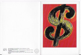 CPSM  Andy Warhol,Dollar Sign 1981 - Warhol, Andy