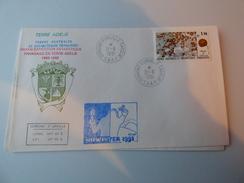 Midwinter  Terre  Adélie 1991 - Covers & Documents