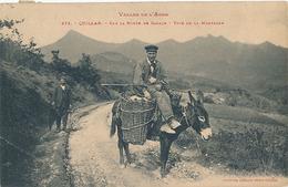 QUILLAN - N° 373 - SUR LA ROUTE DE GARACH - TYPE DE LA MONTAGNE (ANE) - Autres Communes