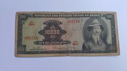 BRASILE 10000 CRUZEIROS - Brazil