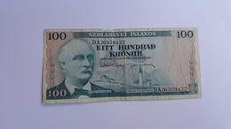 ISLANDA 100 KRONUR 1961 - Iceland