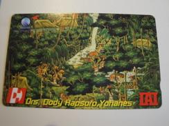 1 Tamura Phonecard From Indonesia - Drs Dody - Indonesia