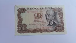 SPAGNA 100 PESETAS 1970 - [ 3] 1936-1975 : Regency Of Franco