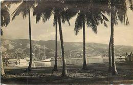 Pays Div -ref  K60- Carte Photo - Photo Postcard - Papeete - Tahiti - Carte Photo Bon Etat  - - Polynésie Française