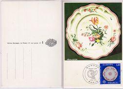 Francia - 1976 - Porcellane De Sevres - 1787 - - Cartoline Maximum