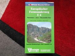 """Europäischer Fernwanderweg E4 """"Kompass Wanderführer / De 1978 - France"""