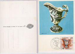 Francia - 1976 - Faience De Strasburg - XVIII°- - Cartoline Maximum