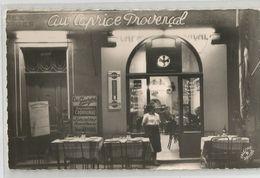 13 - Marseille Restaurant Bar Caprice Provençal Chez Alberte Et Georges 34 Rue Saens Angle Rue Fortia - Otros