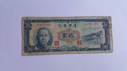 TAIWAN 10 YUAN - Taiwan