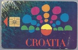 HR.- Kroatië. Hrvatski Telecom HT. CROATIA. 2 Scans - Kroatien