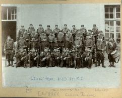 52 - Haute-Marne - Photo 21ème Régiment Infanterie De Langres Caserne Turenne 1898 - Fotos