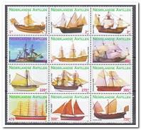 Antillen 2009, Postfris MNH, Ships - Curaçao, Antilles Neérlandaises, Aruba