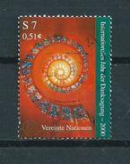 2000 UN Wien Danksagung Used/gebruikt/oblitere - Wenen - Kantoor Van De Verenigde Naties