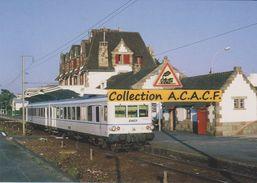 Autorail X 4636 (TER Nantes-Le Croisic), En Gare De La Baule-Escoublac (44) - - La Baule-Escoublac