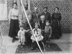 80 ROLLOT / CARTE PHOTO / 1917 / POILU / 140e RI ( GRENOBLE ) / FAMILLE / POUPÉE / 140e RÉGIMENT D' INFANTERIE - Francia