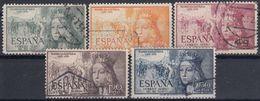 ESPAÑA 1951 Nº 1097/01 SERIE COMPLETA USADA CENTRADO NORMAL - 1951-60 Usados