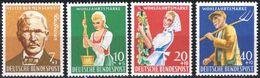 1958: Bund MiNr. 297-300 **  (d092) / Allemagne Y&T No. 168-171 Neuf Sans Charniere - [7] République Fédérale