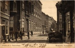 CPA Groeten Uit `s-GRAVENHAGE Westeinde Gymnasium NETHERLANDS (602824) - Den Haag ('s-Gravenhage)