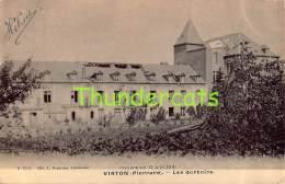 CPA  VIRTON  PIERRARD LES DORTOIRS CYCLONE DU 17 JUIN 1904 - Virton