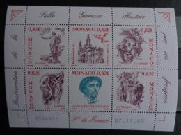 MONACO 2005 Y&T N° 2508 à 2513 ** - RESTAURATION DE LA SALLE GARNIER - Monaco
