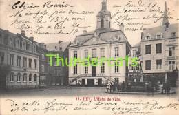 CPA  HUY L'HOTEL DE VILLE - Huy